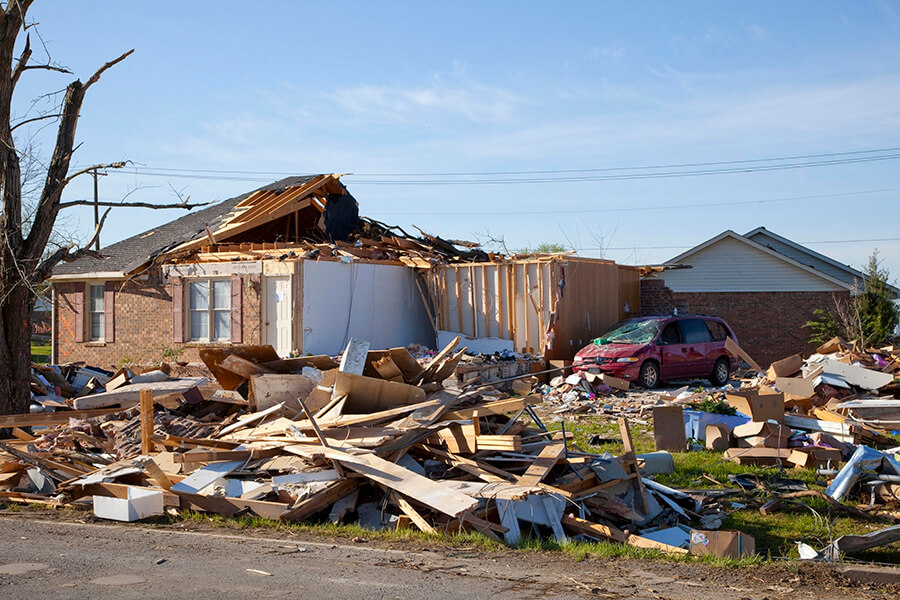 Tornado Damage Repair Dallas TX